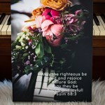 A Canvas Factory Giveaway and a Lovely Flowered Canvas