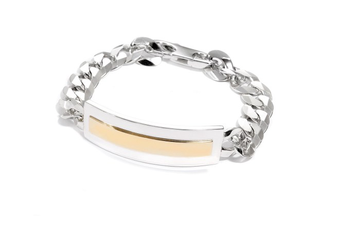 Adeline Cacheux Jewelry Design Bracelet Gourmette Argent Or
