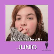 Un año de autoras - Deborah Heredia