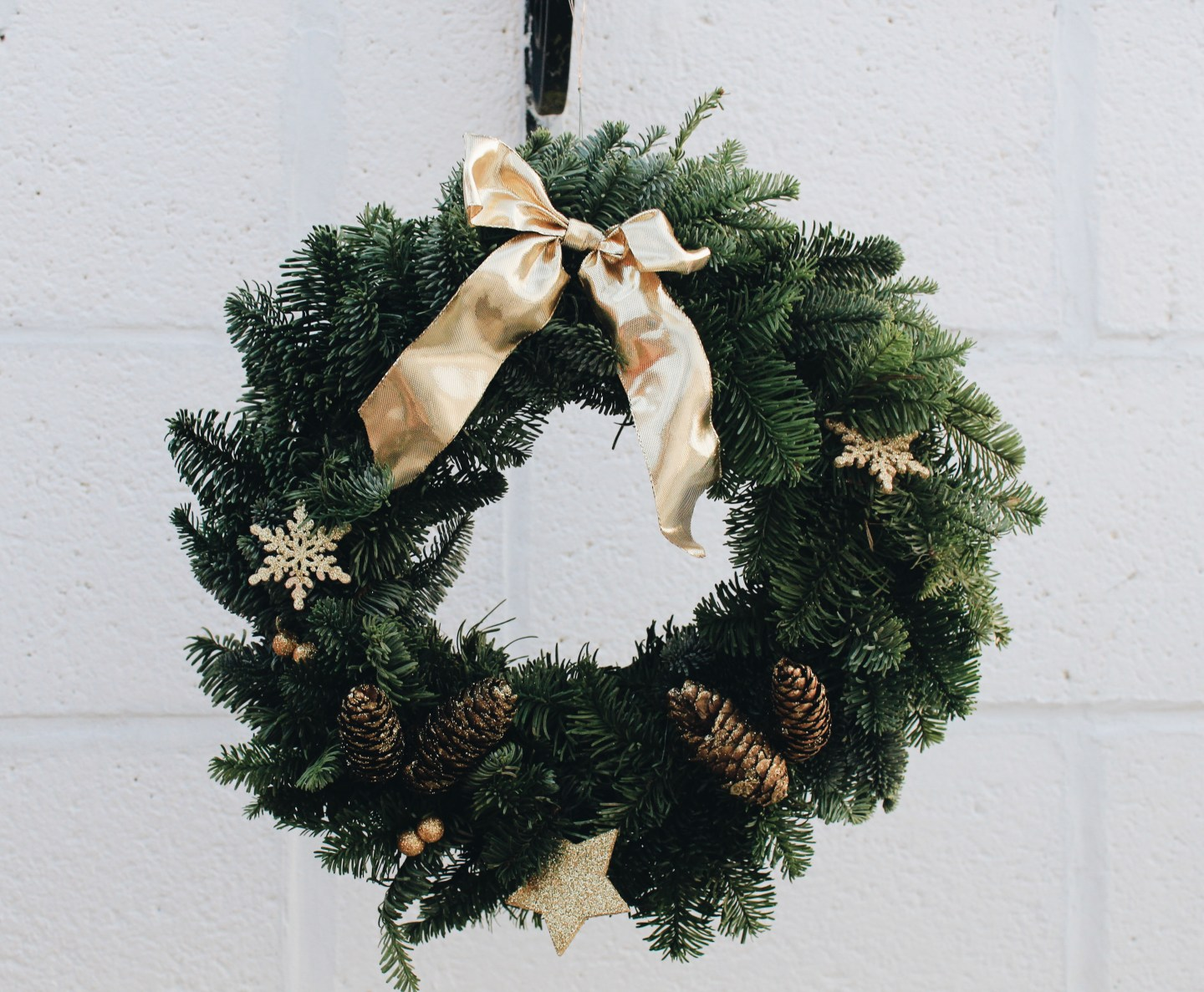 DIY Woodland Wreath | Blogmas Day 8