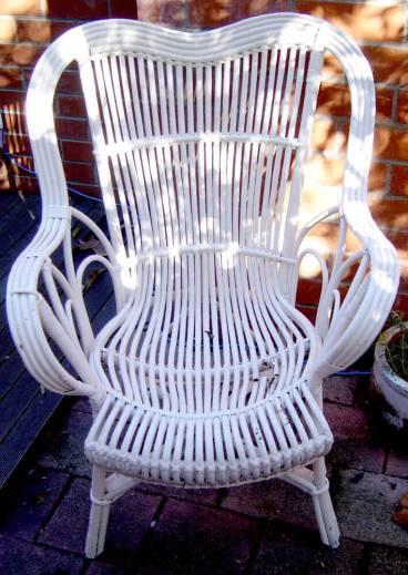 st-vinnies white chair
