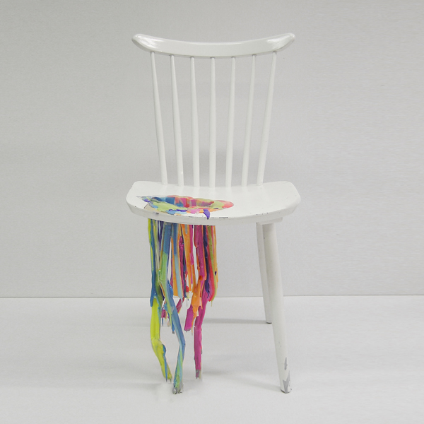 Bleeding Painted Chair · Adelle
