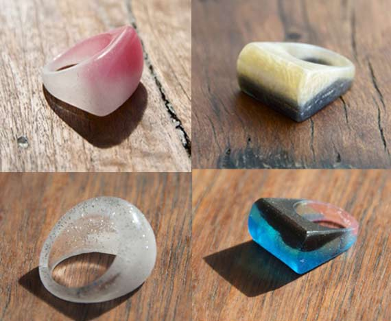 Resin Rings by