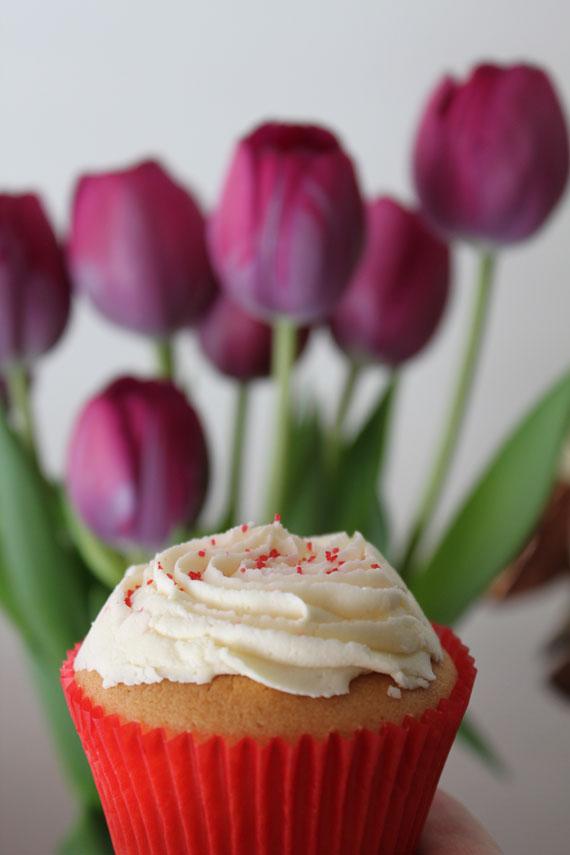 tulip cupcake