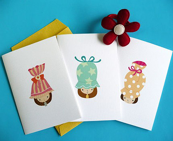 colourful greeting cards