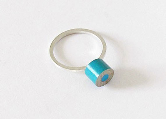 Sterling-silver-and-color-pencil-ring