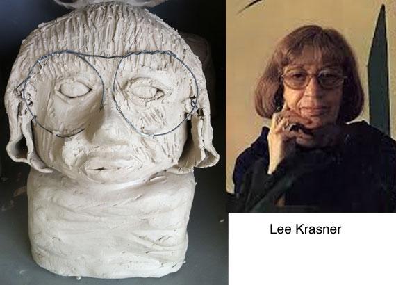 lee-krasner-clay-bust