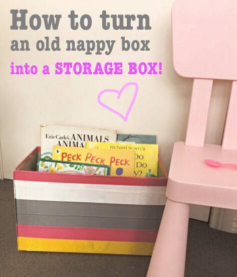 Duct tape storage box