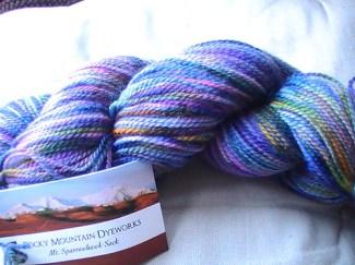 Rocky Mountain Dyeworks yarn