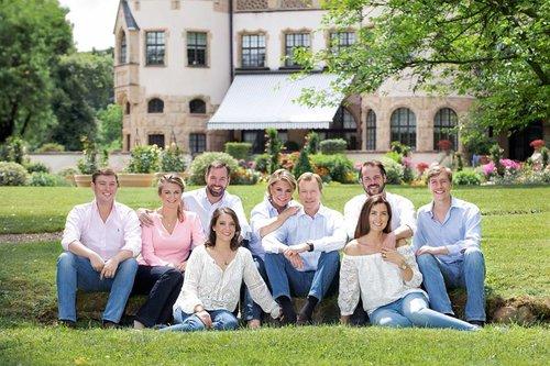 Die großherzogliche Familie von Luxemburg