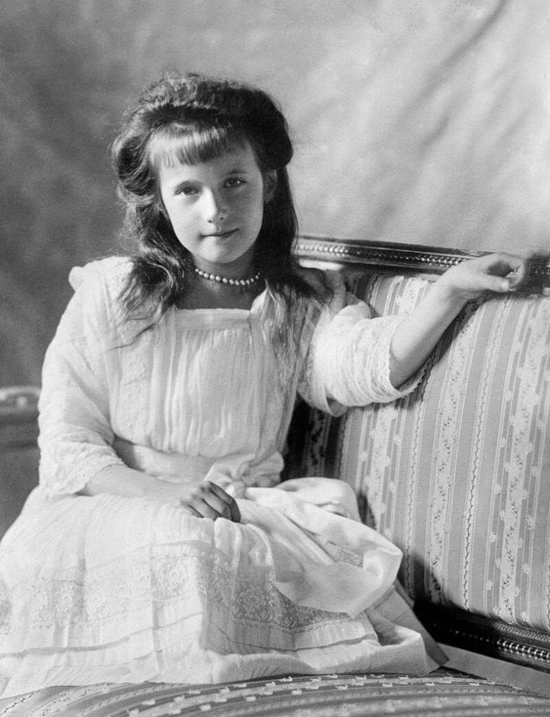 Prinzessin Anastasia (*1901 -†1918)