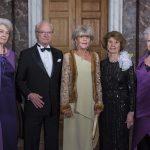 König Carl Gustaf und Schwestern