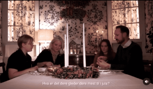 Norwegische Royals Weihnachten