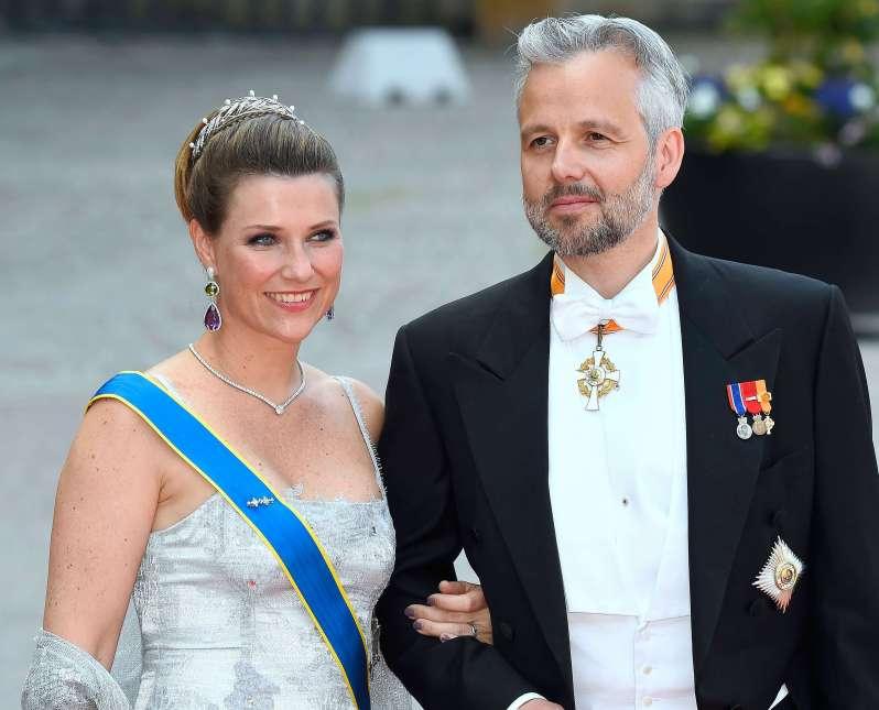 Märtha Louise von Norwegen und Ari Behn