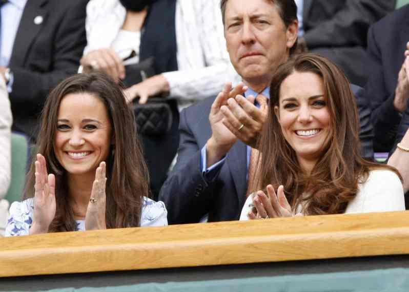Herzogin Kate und Pippa Middleton