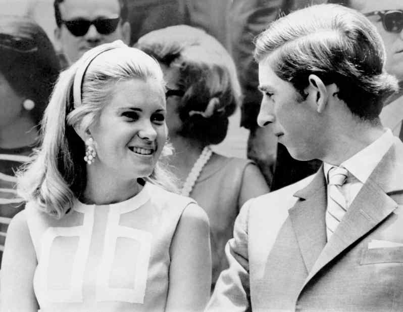 Tricia Nixon und Prinz Charles