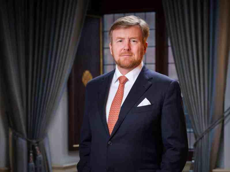 König Willem-Alexander krank