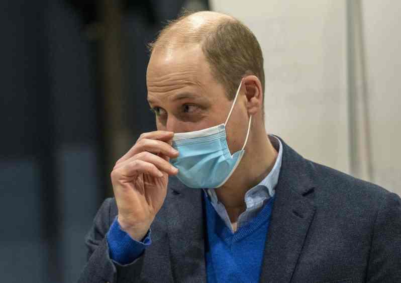 Prinz William spricht über Zustand von Prinz Philip