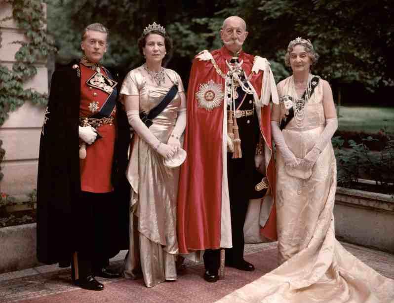Griechische Royals früher