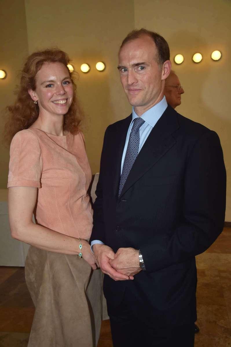 Deutsche Royals bei der Beerdigung von Prinz Philip