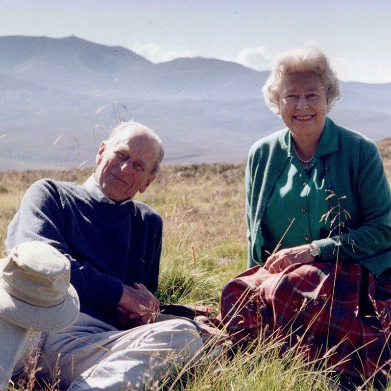 Queen Elizabeth neues Foto mit Prinz Philip