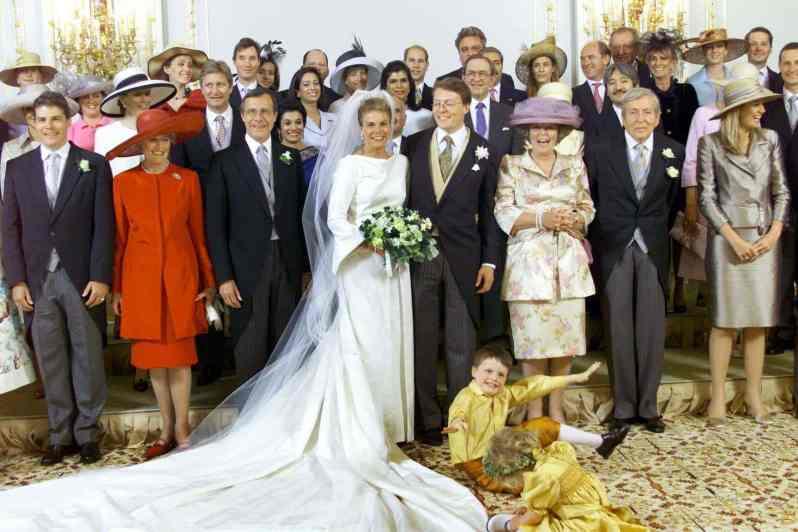 Hochzeit von Prinzessin Laurentien und Prinz Constantijn