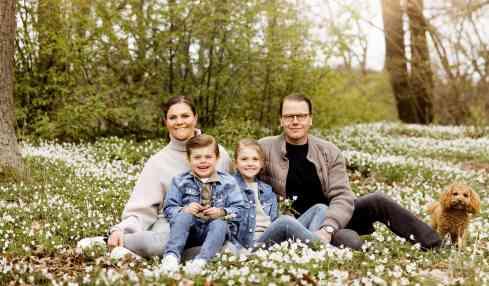 Kronprinzessin Victoria und Familie