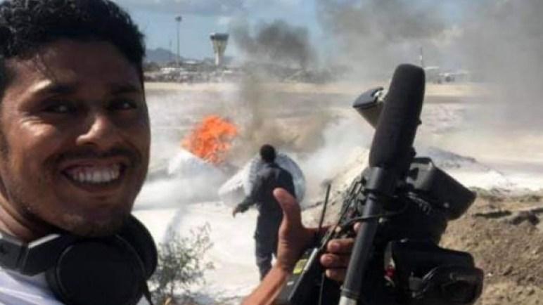 تصاعد دخان كثيف من مطار عدن الدولي.. ومصدر يكشف السبب!