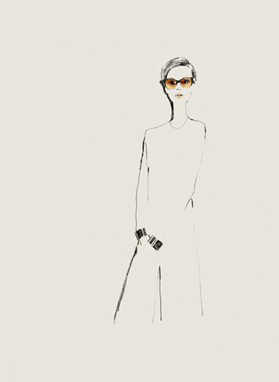Fashion illustration // Bernadette Pascua