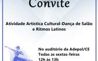Adepol/CE convida associados para participar da Atividade Artística Cultural