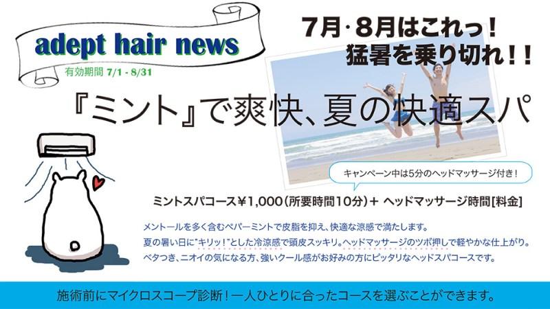 7月〜8月キャンペーン!