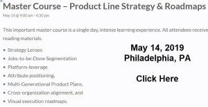 Master Course in Product Line Strategy and Roadmaps