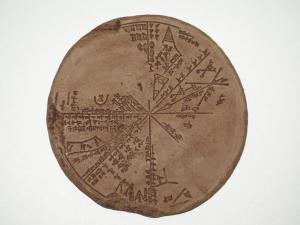Sky Map of Ancient Nineveh 3300 BC