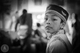 Kid in cultural dress