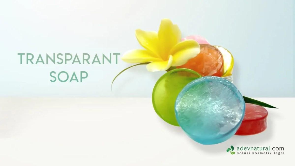 Cara Membuat Sabun Transparan