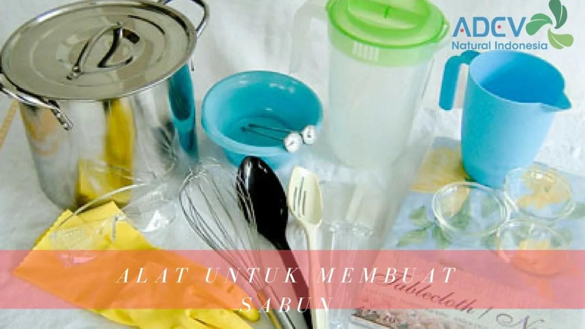 alat untuk membuat sabun