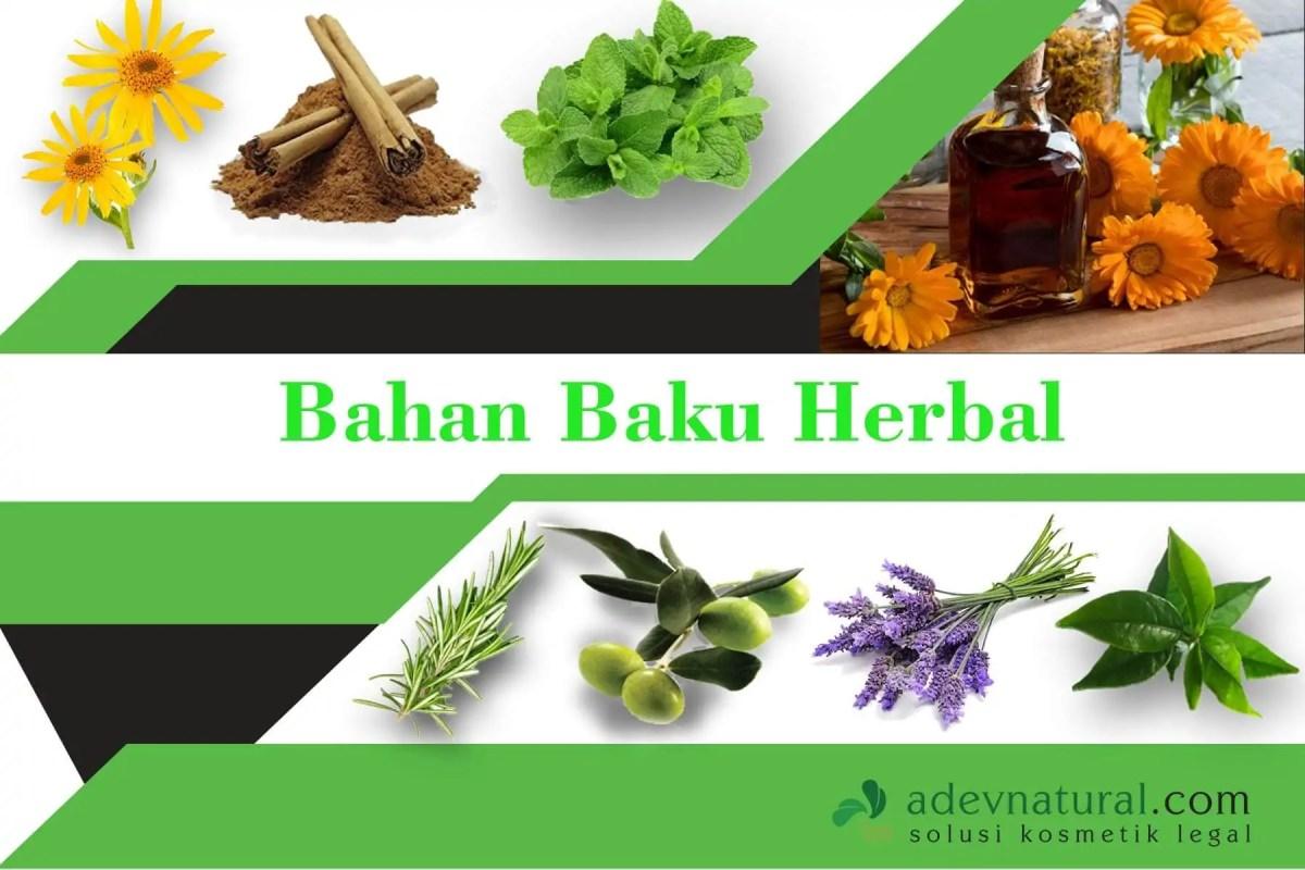 bahan herbal untuk membuat sabun