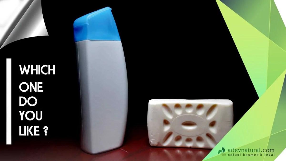 perbedaan sabun cair dan sabun batang (padat)
