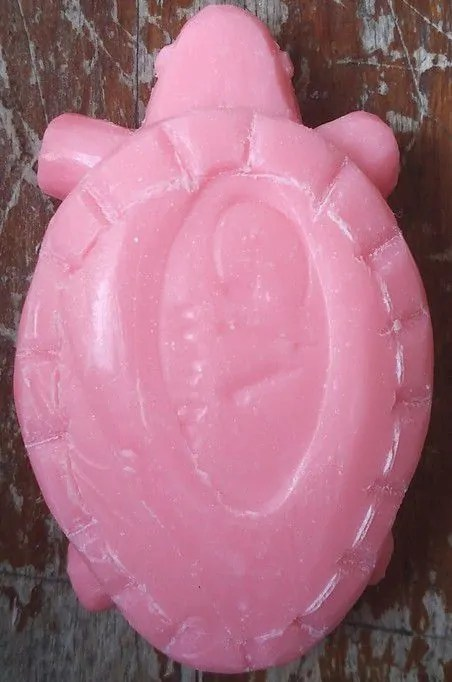 kerajinan tangan dari sabun mandi giv kura kura 05 membuat tempurung