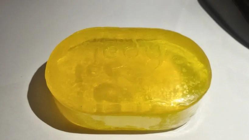 sabun madu transparan