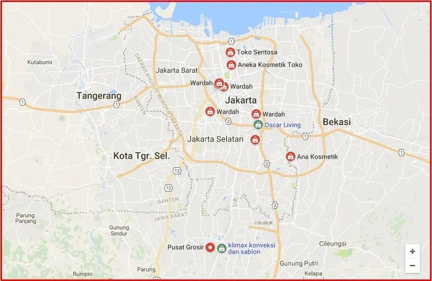 Pusat Grosir Kosmetik Jakarta