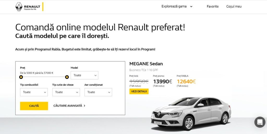 e-Commerce Groupe Renault