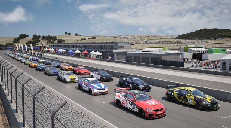 Racing League Romania BMW GT Challenge Laguna Seca