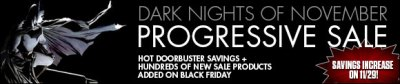 Save up to 80% on Black Friday Through Cyber Monday