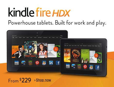 The All-New Kindle Fire HDX