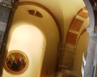 Dettaglio navata laterale