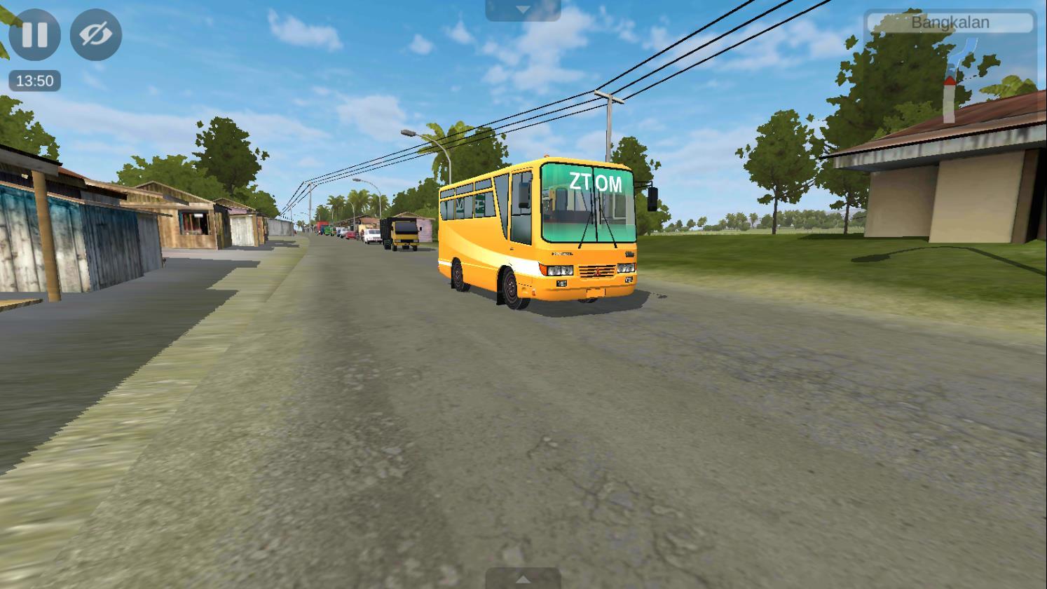 Bus Simulator Indonésia: Mod Bus Engkel com todas as animações!
