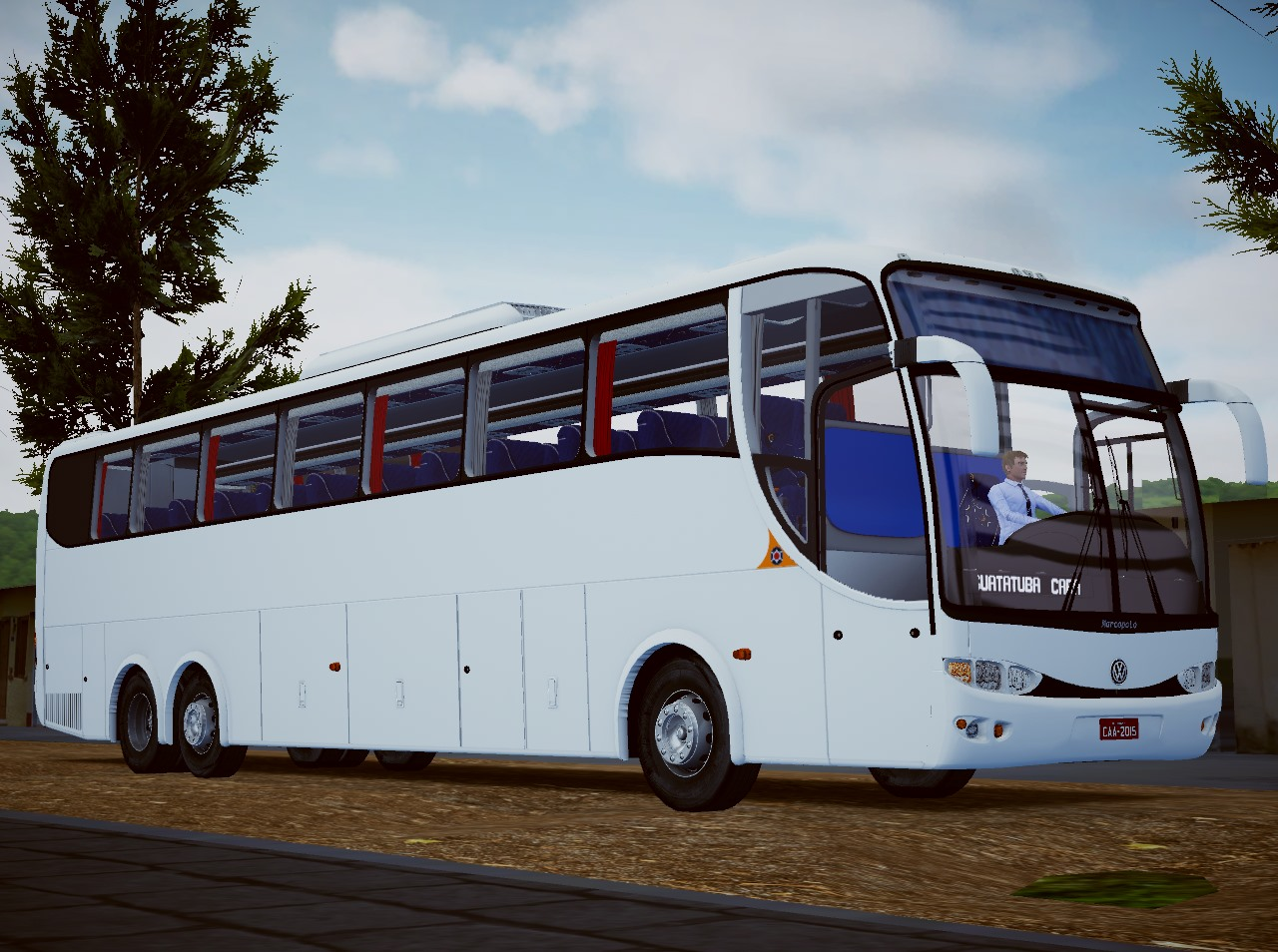 Marcopolo Paradiso G6 1200 VW 18-310 OT 6×2 (Fase 2) para Proton Bus Simulator/Road