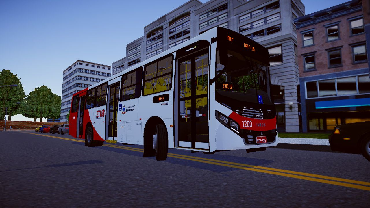 Caio Apache Vip IV Iveco 170s28 para Proton Bus Simulator/Road