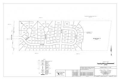 Oak Run Estates Plan